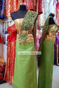 Thailand's Clothes | Category: Traditional Thailand Costumes and Clothing