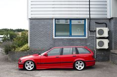 Image result for red e36 touring