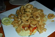 Crispy Calamari at Clearsky Cafe on Clearwater Beach. #ClwbTasteFest #ClwbRestaurantWeek