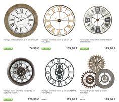 Horloges #MaisonsDuMonde