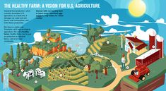 AWESOME Interactive Infographic: The Healthy Farm | UCSUSA - Check it out!