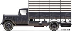 """Engines of the Wehrmacht - """"Citroen 45"""", 3.5-ton, 4x2, Cargo Truck"""