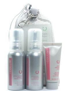 G.M. Collin - Soothing Kit - Sensitive Skin by GM Collin. $31.18. G.M. Collin Soothing Kit is a 3-step solution for sensitive skin types. The Cleansing Milk dissolves sebum, skin impurities and makeup without drying the skin. The Treating Lotion hydrates, tones and soothes the skin. The Sensiderm Cream soothes and hydrates to restore the skin's ecosystem. Kit Contains: G.M. Collin Sensiderm Cleansing Milk- 1.7 0z G.M. Collin Sensiderm Treating Lotion - 1.7 oz G.M. Coll...