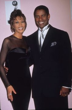 "18. Whitney followed up ""The Bodyguard"" and ""Waiting to Exhale"" with ""The Preacher's Wife"" with Denzel Washington"