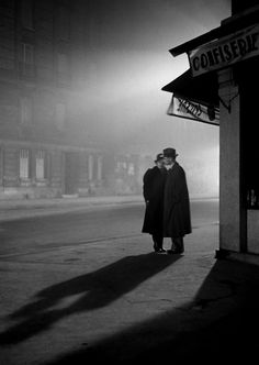 Paris Evening, Paris, 1934 by Fred Stein