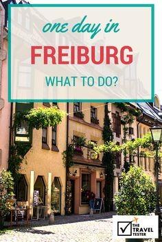 Germany Travel Inspiration - What to do in Freiburg for a Day: Handpicked One Day in Freiburg City Guide Visit Germany, Germany Travel, Travel List, Travel Guides, Travel Europe, Oh The Places You'll Go, Places To Travel, Hostels, Black Forest Germany