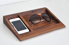 iPhone Dock + soporte de los vidrios