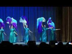 """Музыка ветра...танец с веерами-вейлами.....Эстрадно-музыкальный театр """"МЫ"""",режиссер Жукова М.А. - YouTube"""