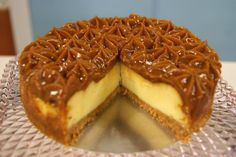 Cheesecake de Doce de Leite no dia 25/06/2012