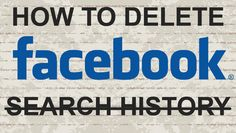 How to delete Facebook search history #history #facebook #youtube #video #tutorial #tips #tricks