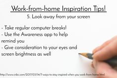 I don't know about you, but too many hours staring at a screen means annoying headaches! #inspiration #noheadaches