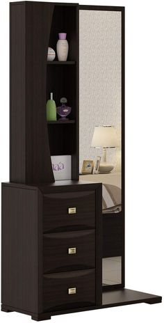 Best Dressing Table to buy online in India - Select good quality one to enhance your BedRoom Bedroom Furniture Design, Dressing Table Design, Bedroom Cupboard Designs, Bed Furniture Design, Table Design, Bedroom Closet Design, Wardrobe Design Bedroom, Bedroom Bed Design, Bedroom Tv Unit Design