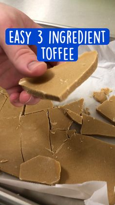 Fun Baking Recipes, Candy Recipes, Sweet Recipes, Fun Desserts, Delicious Desserts, Yummy Food, Desert Recipes, Toffee, Chocolates