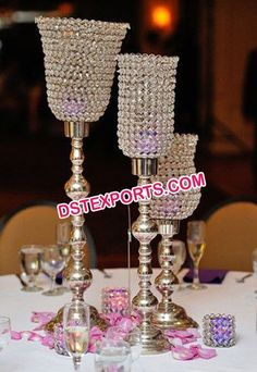 #Wedding #Table #Lamp #Type #Crystal #Stand #Dstexports