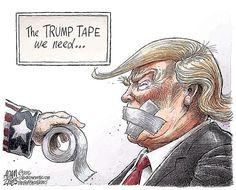 A roundup of funny and provocative cartoons about Donald Trump and his presidential administration.
