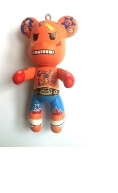Kawaii Japanese Tattooed Gangster Teddy Bear by KajaSupplies