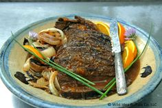 Wild Idea Buffalo Recipe of the Week - Orange Balsamic Brisket.  http://wildideabuffalo.com/2014/orange-balsamic-brisket/