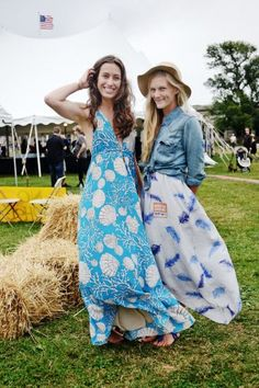 AnniePardo and KatieAlexander at the Newport Folk Festival in June 2012.   Remember when music festivals were about seeing live music with your friends, and not about street style, pool parties, or Twitter hashtags? If you thought that the last music festival died with the introduction of Instagram, think again — the Newport Folk Festival has been going on since 1959 and still boasts the same quality, no-frills event that hosted Bob Dylan's first national live show in '63.