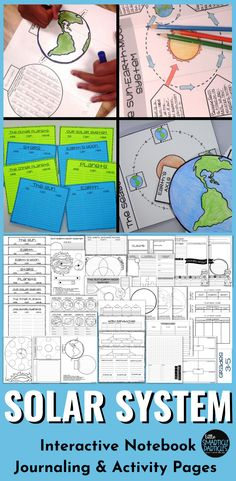 Solar System Interactive Notebook Special Education Activities, Science Resources, Science Lessons, Teaching Science, Science Activities, Educational Activities, Teaching Resources, Teaching Ideas, Creative Teaching