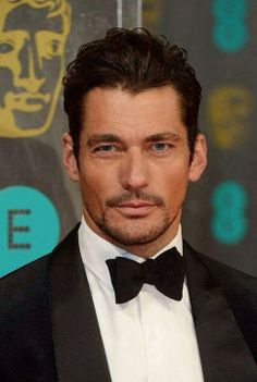 David Gandy Attends The 2014 EE Bafta Awards ~ David James Gandy