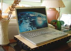 elephantjournal.com reviews: Natural High Lifestyle's eco laptop table. ~ Mar 30, 2010