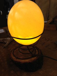 WDA - WilDesignArt - Egg Lamps - Iside 1