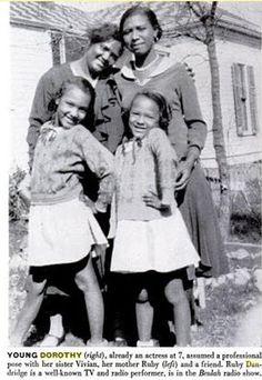 Dandridge family pic | Dorothy Dandridge with her mother, Ruby Dandridge and her sister Vivian.