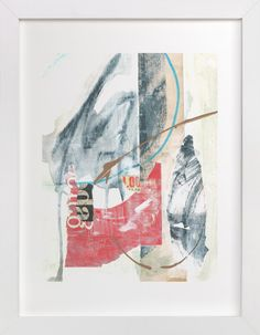 """Verbatim"" - Art Print by Misty Hughes in beautiful frame options and a variety of sizes. Modern Art Prints, Contemporary Paintings, Wall Art Prints, Black And White Painting, White Art, Verbatim, Mid Century Modern Art, Custom Art, Mixed Media Art"