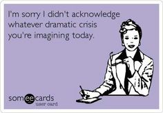 this sounds like your work situation @Melanie Drake Hawkins