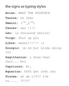 jk I have now changes to a Libra bc that is actually me