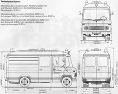 mercedes 508d dimensions google search my style by philipp rh pinterest com Mercedes -Benz Sprinter Ambulance Mercedes Sprinter Ambulance