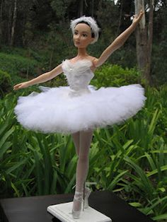 Odette from Swan Lake for the Clea Bella doll.