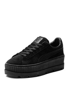552252d38455 Fenty Puma x Rihanna Men s Suede Cleated Creeper Platform Sneakers Suede  Creepers