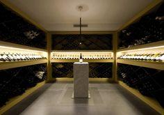 wine cellar, inkiostro restaurant