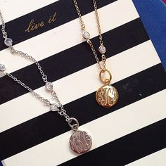 The most devine monogrammed necklace, the Blair is a piece of timeless luxury. Whether it