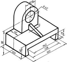 Autocad Isometric Drawing, Cad Computer, Geometric Drawing, Technical Drawings, Drawing Exercises, Wallpaper, Creative, Drawings, Mechanical Design