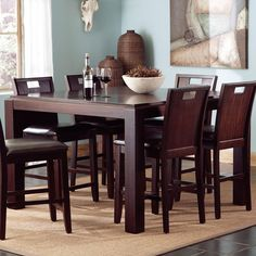 prewitt counter height table by coaster