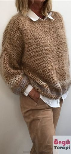 Winter Knitting Patterns, Knitting Designs, Knit Patterns, Knitwear Fashion, Cardigan Fashion, Sweater Cardigan, Sweater Dresses, Crochet Cardigan Pattern, Crochet Shawl