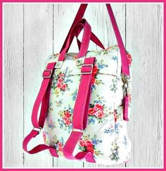 The Bookbag Backpack - PDF Sewing Pattern + How to Create an Easy Welt Seam $
