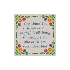 Cross Stitch Pattern, Funny Cross Stitch, Real Adorable, Instant Download PDF, Cowbell Cross Stitch, Subversive Cross Stitch