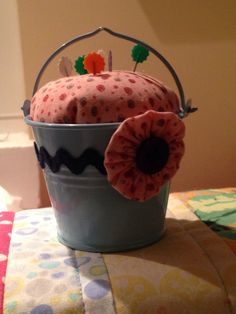 Pin cushion for Margaret 2014