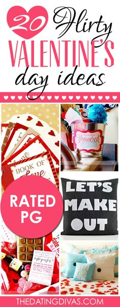 20 Flirty Valentine's Day Ideas