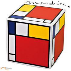 Banquinho Piet Mondrian em Cores Primárias!