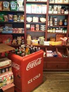 country stores -I remember the coke ice chest. Always a happy sight on a hot summer day.