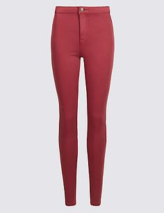 High Waist Super Skinny Jeans   M&S