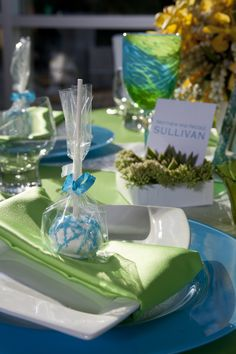 Cool Neon Frost - Creative Cakes | CT-Designs Calligraphy & Wedding Stationery | Sue Long Handmade Glassware