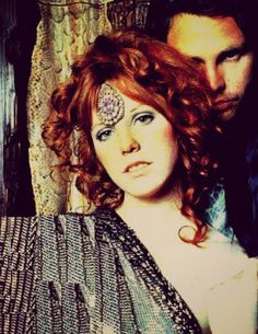 Jim Morrison and Pam Courson {Themis photoshoot 1969}