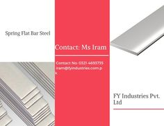 FY Industries Pvt. Ltd is here to help you for all your steel needs. Our manufacturing unit is in China and we supply our material all over the world. Please contact us with confidence at our given number: Contact Number: +92 321 4693735 Email: iram@fyindustries.com.pk
