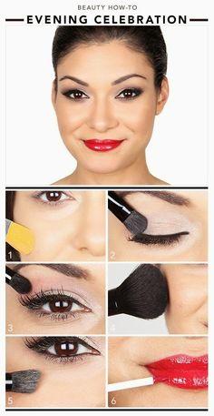 Beauty how-to: EVENING CELEBRATION ~ Fashion519
