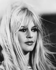 Brigitte Bardot Brigitte was a french bombshell during the 60's, famous for being a model and actress. Description from drugstoreprincess.com. I searched for this on bing.com/images